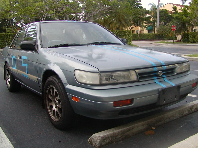 1992 Nissan Maxima SE - Mickey Thompson Slicks and Stan