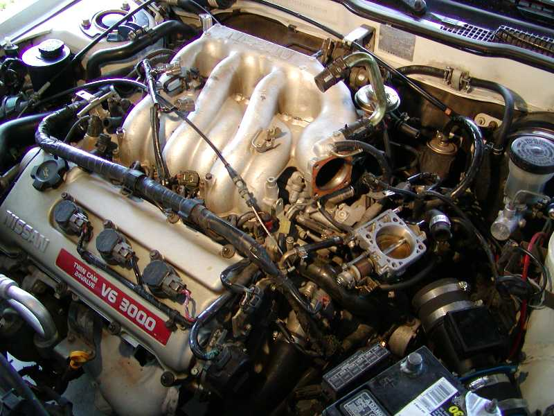 1992 Nissan Maxima Se Ve30de Upper And Lower Intake Manifold Port And Polish Pictures Knock